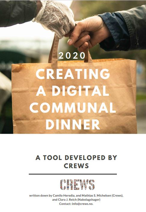 Creating a digital communal dinner  Placemaking in Oslo